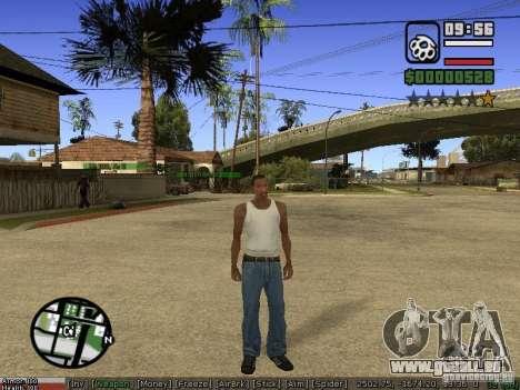 Armes de Pak pour GTA San Andreas quatrième écran