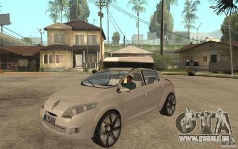 Renault Megane III pour GTA San Andreas