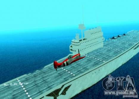 Battle Ship pour GTA San Andreas deuxième écran