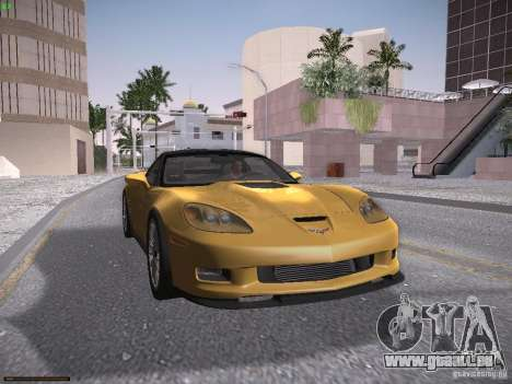 Chevrolet Corvette ZR1 für GTA San Andreas