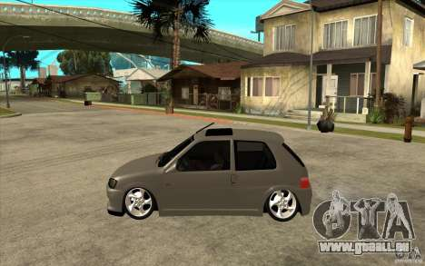 Peugeot 106 Reptile für GTA San Andreas linke Ansicht