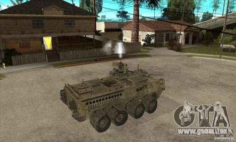 Stryker CDMW2 für GTA San Andreas rechten Ansicht