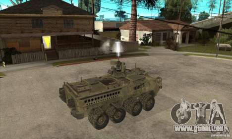 Stryker CDMW2 pour GTA San Andreas vue de droite