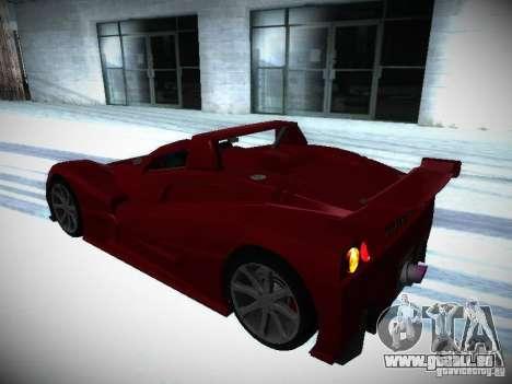 Lada Revolution pour GTA San Andreas vue intérieure