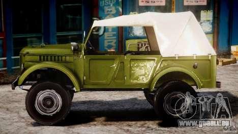 Gaz-69 a, 1965 pour GTA 4 est une gauche