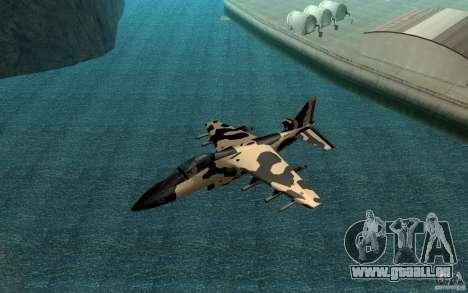 Camo Hydra für GTA San Andreas