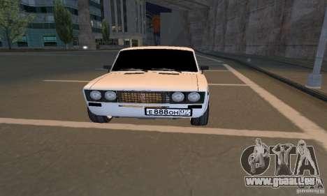VAZ 2106 Tuning Licht für GTA San Andreas linke Ansicht