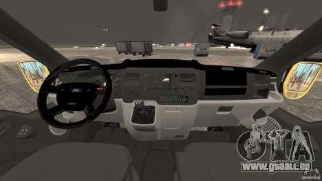 Ford Transit NY Airport Service [ELS] für GTA 4 Rückansicht