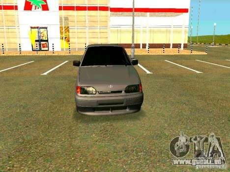 ВАЗ 2114 für GTA San Andreas zurück linke Ansicht