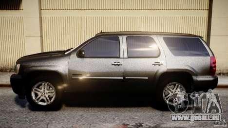 Chevrolet Tahoe 2007 pour GTA 4 est une gauche