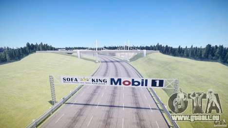High Speed Ring pour GTA 4 troisième écran