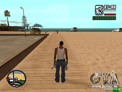 Ändern Sie das Zoom-radar für GTA San Andreas