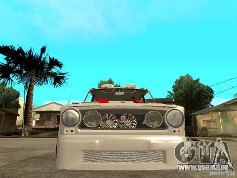 Vaz 2101 voiture Tuning Style pour GTA San Andreas vue de droite