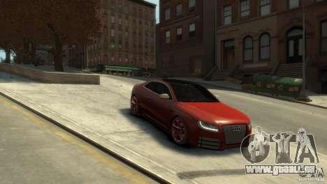 AUDI S5 pour GTA 4 est un droit