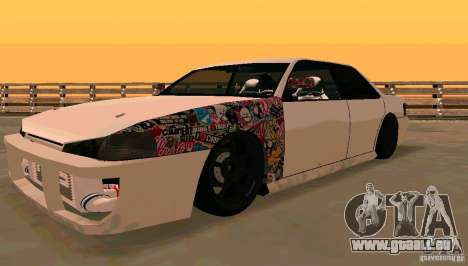 New Sultan v1.5 für GTA San Andreas linke Ansicht