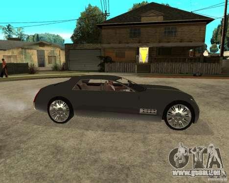 Cadillac Sixteen pour GTA San Andreas vue de droite