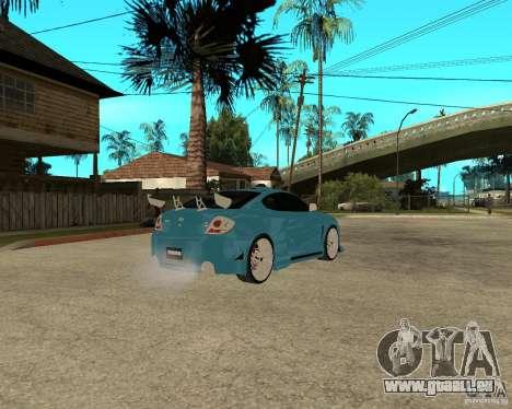 Hyundai Tibuton V6 GT für GTA San Andreas rechten Ansicht