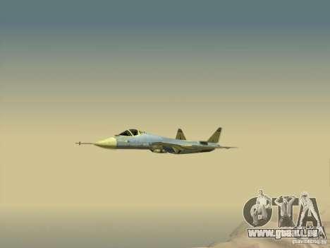 T-50 Pak Fa für GTA San Andreas Unteransicht