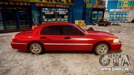 Lincoln Town Car 2003 für GTA 4 Innenansicht
