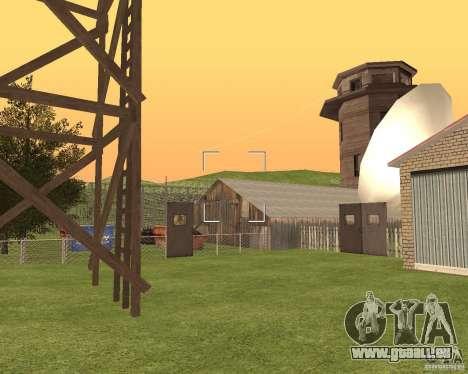 Base Gareli für GTA San Andreas fünften Screenshot