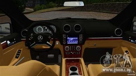 Mercedes-Benz ML63 AMG für GTA 4 Rückansicht