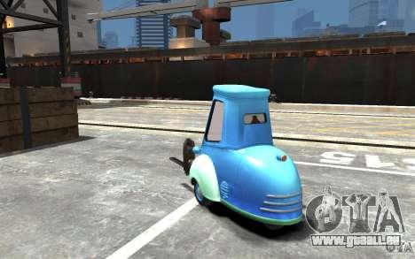 Guido de Cars Mater-National pour GTA 4 Vue arrière de la gauche