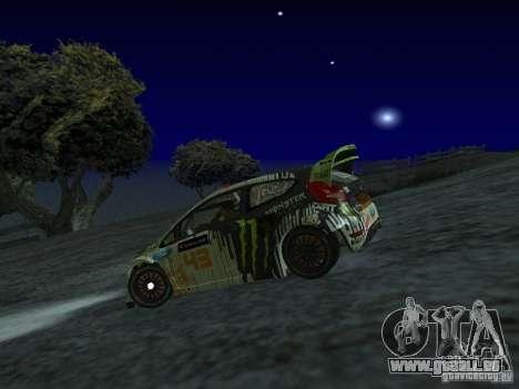 Ford Fiesta Ken Block WRC pour GTA San Andreas laissé vue