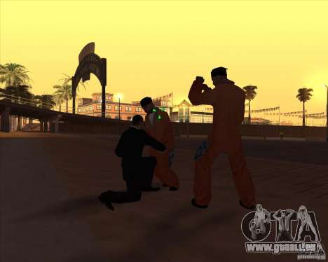 Kick in the balls für GTA San Andreas dritten Screenshot