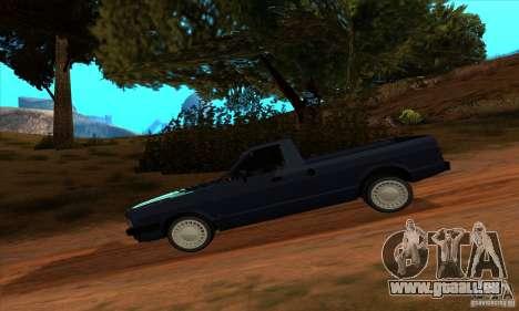 Ford Pampa Ghia 1.8 Turbo für GTA San Andreas zurück linke Ansicht