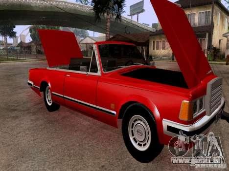 ZIL 41044 Phaeton pour GTA San Andreas vue intérieure