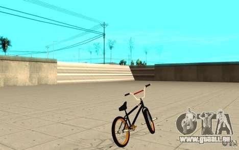 REAL Street BMX pour GTA San Andreas sur la vue arrière gauche