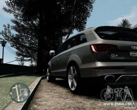 Audi Q7 V12 TDI Quattro Updated pour GTA 4 est un droit