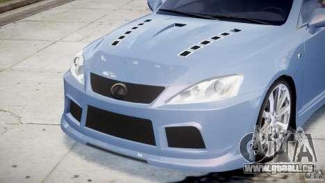 Lexus IS F für GTA 4-Motor