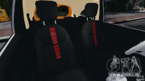 Ford Ka 2011 pour GTA 4 est une vue de l'intérieur