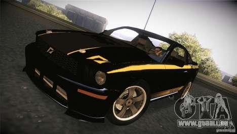 Shelby GT500 Terlingua pour GTA San Andreas laissé vue