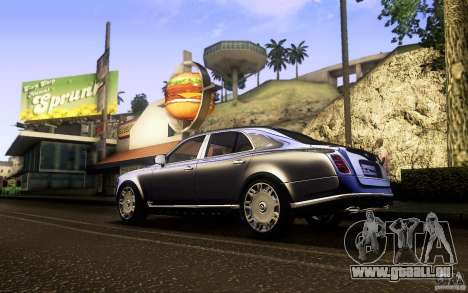 Bentley Mulsanne 2010 v1.0 pour GTA San Andreas
