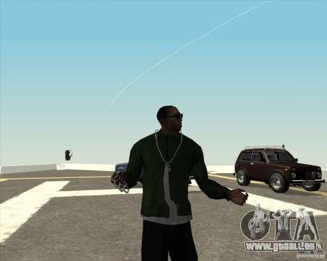 Animation différente pour GTA San Andreas cinquième écran