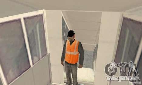 Airport Vehicle pour GTA San Andreas neuvième écran