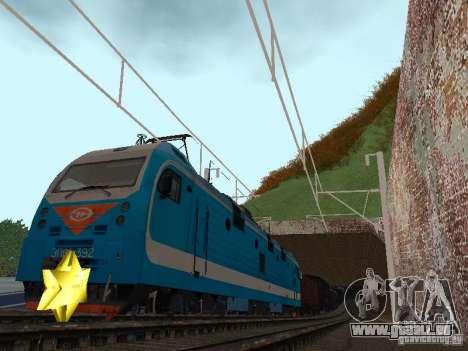 Animtrain pour GTA San Andreas troisième écran