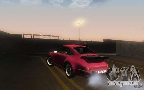 Porsche 911 Turbo 1982 pour GTA San Andreas sur la vue arrière gauche