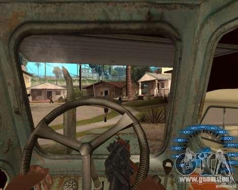 Hinter dem Lenkrad für GTA San Andreas
