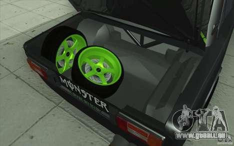 L'écoute de Drift Lada VAZ 2106 pour GTA San Andreas moteur