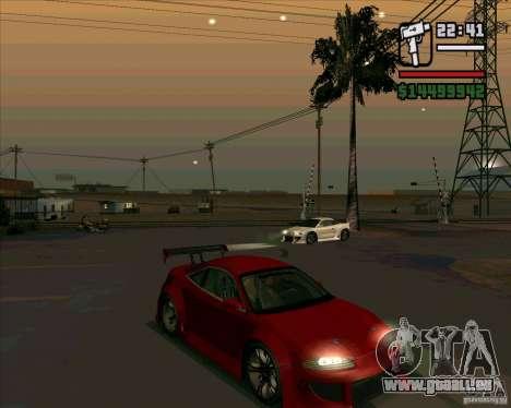 Mitsubishi Eclipse GS-T für GTA San Andreas linke Ansicht