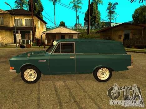 AZLK 2734 pour GTA San Andreas laissé vue