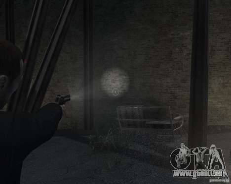 Flashlight for Weapons v 2.0 pour GTA 4 quatrième écran