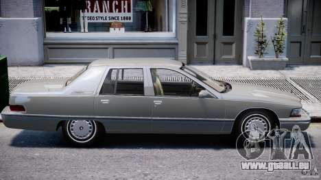 Buick Roadmaster Sedan 1996 v 2.0 pour GTA 4 Salon