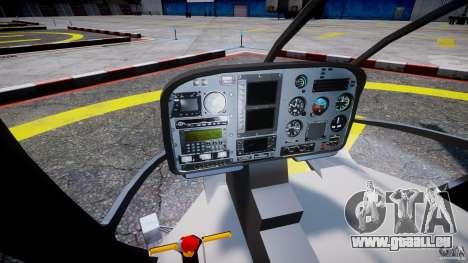 Eurocopter EC 130 Finnish Police pour GTA 4 Vue arrière