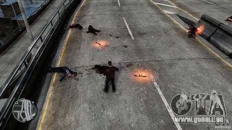 Blood-Mod v6.0 für GTA 4 Sekunden Bildschirm