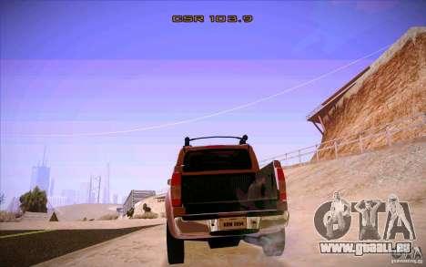 Nissan Fronter pour GTA San Andreas vue de côté