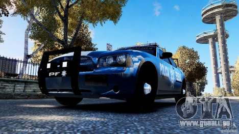 POLICIA FEDERAL MEXICO DODGE CHARGER ELS für GTA 4